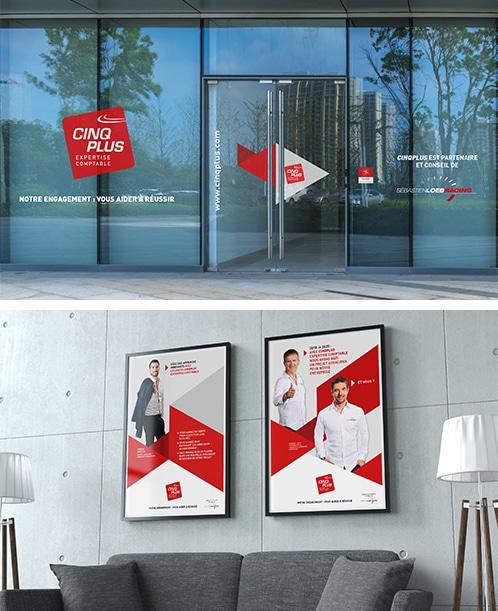 VISUEL COMMUNITY_marquage exterieur poster interieur